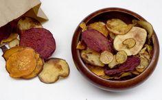 Salt and Vinegar Veggie Chips
