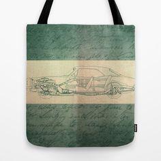 Diary Tote Bag by Fernando Vieira