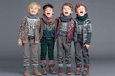 Discover Dolce & Gabbana Junior Boy's Clothing Designed by The World Famous Italian Duo. Mini Me Collection with the Same Brand DNA as the Men's Collection.