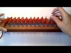 Video Tutorial Telar Maya Punto Ingles La Hilandera - YouTube
