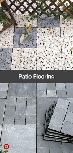 Outdoor Tiles, Outdoor Kitchen Patio, Backyard Patio, Outdoor Spaces, Outdoor Decor, Outdoor Living, Patio Flooring, Flooring Ideas, Deck Tile