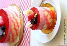 Trang's Kitchen - Raspberry Milky Mousse