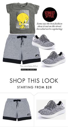 """Untitled #470"" by ellma94 ❤ liked on Polyvore featuring adidas and ElevenParis"