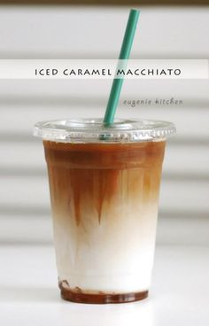 "<p>Recipe here: <strong><a href=""http://eugeniekitchen.com/iced-caramel-macchiato/"" target=""_blank"">COPYCAT STARBUCKS ICED CARAMEL MACCHIATO</a></strong></p>"