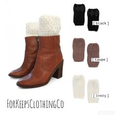 Only (1) Blackleft!!    Knit boot cuffs with rhinestones. On sale for $7.50each!!   Shop this product here: http://spreesy.com/Forkeepsclothingco/65   Shop all of our products at http://spreesy.com/Forkeepsclothingco      Pinterest selling powered by Spreesy.com