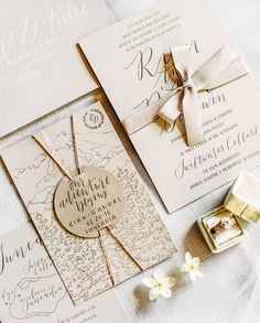 Rustic wedding invitation suite: Photography: Sally Pinera - sallypinera.com Read More on SMP: http://www.stylemepretty.com/2017/05/30//