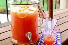With all graduation and Memorial Day weekend festivities coming up, it occurred to me that I've never shared my favorite punch-to-serve-a-crowd. I love this. My kids love this. My husband loves this. My girlfriends really love this with a splash of vodka. It's just a great all-purpose crowd pleasing punch. And it couldn't be easier. I've been making this for years, though I'm pretty sure the recipe is not my own. I have it scratched on an old piece of notebook paper from m...