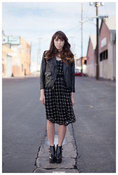 Zoë in Los Angeles Street Style Portrait