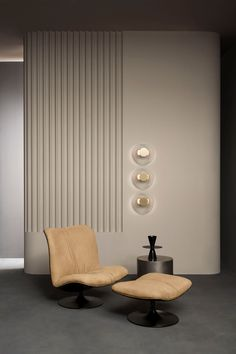 Neutral hues provide to every interior a clean, welcoming, well-designed and warm feel. Explore our range of options perfect as this one is. Modern Home Interior Design, Interior Exterior, Interior Walls, Interior Architecture, Retail Interior Design, Interior Design Elements, Plywood Furniture, Design Furniture, Furniture Decor