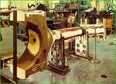 William Doxford & Sons, (Engineers) Ltd. Mechanical Workshop, Marine Engineering, Industrial Machinery, Big Huge, The Old Days, Industrial Revolution, Sunderland, Diesel Engine, Metal Working