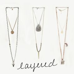 Layer Your Necklaces