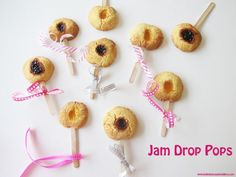 School holiday baking with the kids? Want to try jazzing up the humble jam drop by making them in to Jam Drop Pops because everything is better on a stick!
