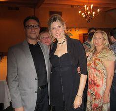 Al Conti with award winning Australian pianist Fiona Joy and publicist Beth Hilton at the ZMR Music Awards Show, 2015