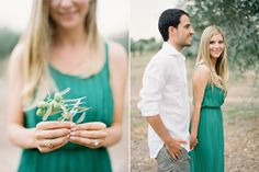 Jose Villa Photography. Soft pastels, beautiful engagement/pre-wedding photo shoot