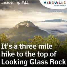 Daytripper: Hike to the top of Looking Glass Rock.