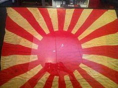 Japanese Soldier Rising Sun Flag   My Japanese Rising Sun War/Banzai flag.-img_5347.jpg