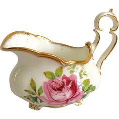 Royal Albert Bone China American Beauty Oval Creamer