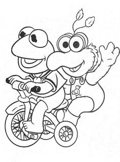41 Muppet Babies Coloring Pages Ideas Baby Coloring Pages Muppet Babies Coloring Pages