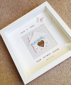 New home box frame/ gift/ home/ present by Munchkinmaker22 on Etsy