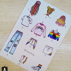 #Rainbow #fashion