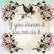 Daydream Queen … Let nothing hold you back & dream big! – Lorraine Ambers