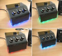 DIY plexi amp & speakers for PC - scratch made