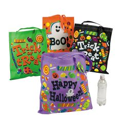 Trick Or Treat Totes - OrientalTrading.com