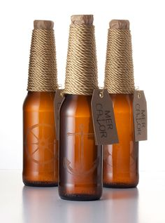 Bottle design for a premium Belgian IPA by Vibeke Illevold. #packaging