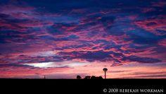 Another beautiful Oklahoma sunset