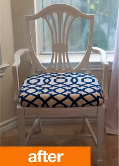 more inspiration for my classic Hepplewhite chair DIY
