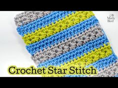(498) How to crochet the Star Stitch | Easy Tutorial | Free Pattern | Beginner Crochet Stitches - YouTube