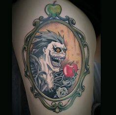 """A delightful portrait of a death god: 
