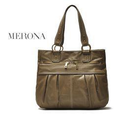 Thick PU leather  folds handbag shoulder bag free shipping US $25.19