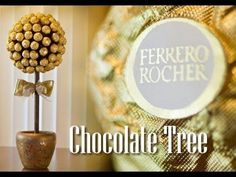 How to Make a Ferrero Rocher Chocolate Tree (Made my Step Father)