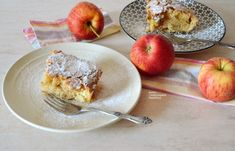 Η πιο εύκολη νόστιμη μηλόπιτα! - cretangastronomy.gr Cinnamon Cake, Pastry Cake, Apple Recipes, Food To Make, Sweet Tooth, Oatmeal, Recipies, Fruit, Vegan