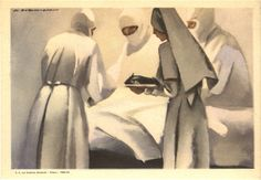 Ritmi di morte e di vita (Rhythms of life and death), 1935. Pictures of Nursing: The Zwerdling Postcard Collection. National Library of Medicine