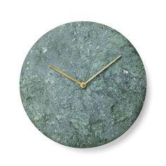 "Menu 11.81"" Marble Wall Clock & Reviews   AllModern"