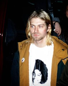 Kurt Cobain in Boston, MA, US. November 11th, 1993