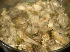 Betty's Cuisine: Κουνέλι τσιγαριαστό Meat Recipes, Shrimp, Greek Beauty, Turkey, Meat Food, Chicken, Hunting, Turkey Country, Fighter Jets