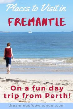 Find out the best things to do in Fremantle, Perth! This port city in Western Australia is home to Fremantle Prison, beautiful beaches, great Perth nightlife and restaurants and can be reached by ferry. #perth #australia #traveldestinations Perth Australia, Western Australia, Australia Travel, Scenic River Cruises, Australian Photography, Destinations, Kings Park, Koh Tao, Padi Diving