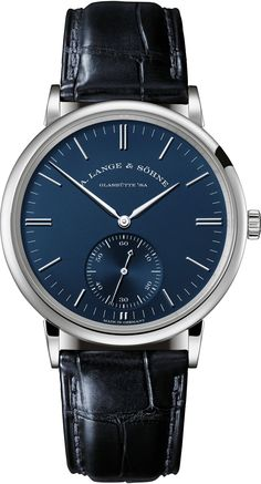 A. Lange & Söhne Blue Series Watches - Ape to Gentleman