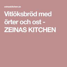 Vitlöksbröd med örter och ost - ZEINAS KITCHEN