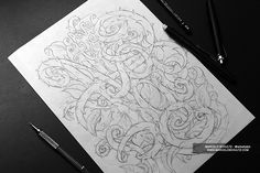— The Sketch Collection —Since I was a kid I spent many hours a day drawing, and I would always keep a sheet of blank paper and some pencils with me. I think sketching is one of the most important steps in the creation of an artwork, it is where you are…
