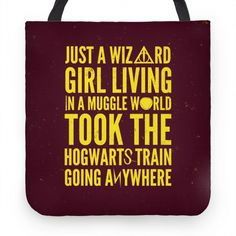 Just a wizard girl...living in a Muggle world. Took the Hogwarts train going anywhere.
