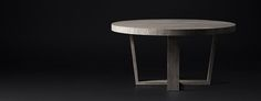 RH Modern's Round Table Collections