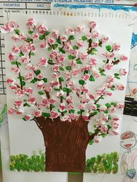 Spring Crafts For Kids Diy For Kids Jar Art Spring Art Art School Art Activities Preschool Crafts Art Lessons Art Projects Valentine Crafts For Kids, Spring Crafts For Kids, Art For Kids, Cherry Blossom Art, Diy And Crafts, Paper Crafts, Spring Art, Art Activities, Preschool Crafts