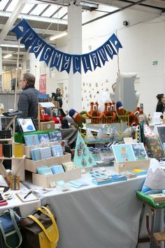 Cool Craft stall displayes. Pygmy-Cloud-Stall-Renegade-London