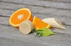 Přírodní tuhý kondicionér na vlasy • pomeranč  U zelené větévky