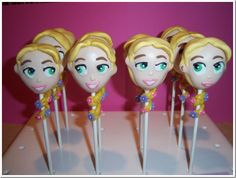 Rapunzel Cake Pops made by Kreative Pastries and Cake Pops