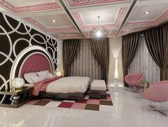 Elegance Pink Girls Bedroom